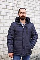 Модная зимняя мужская куртка со съемным капюшоном М32