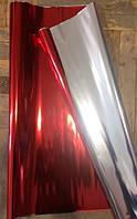 Пленка металлизированная (односторонняя), красная