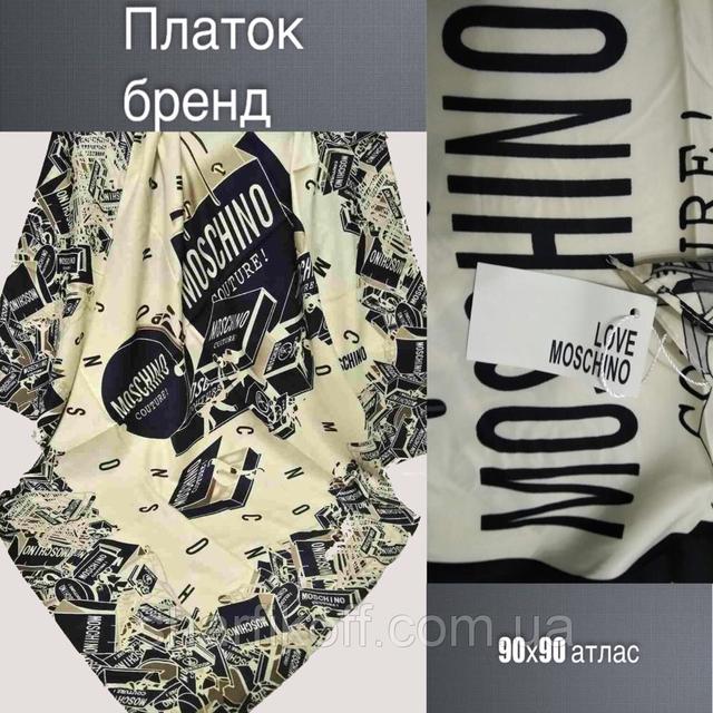 "Платок U Москино ""атлас"" 90х90"