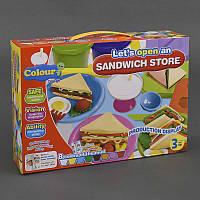"""Тесто для лепки 8209 """"Сэндвич-ланч"""" (12) в коробке"""