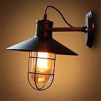 Американский бар железной стены мансарды ретро промышленная спальня прикроватные напольный светильник зеркального стекла лампы 05239837
