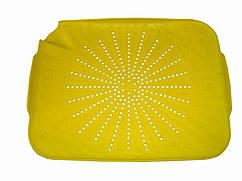 Пластиковый коврик-дуршлаг для раковины