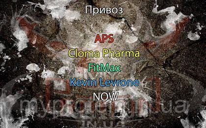 Поступление: APS, Cloma Pharma, FitMax, Kevin Levrone, NOW.