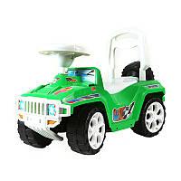 Машинка каталка Ориончик 419 цвет зеленый Орион