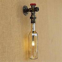 AC 220v-240v 3w e27 янтарного воды настенный светильник с настенный выключатель света 05363823