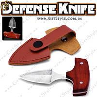"""Тактический нож для самообороны - """"Defence Knife"""" + чехол!"""