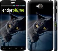 "Чехол на LG G Pro Lite Dual D686 Дымчатый кот ""825c-440-7794"""