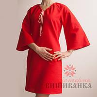 Заготовка платья под вышивку  СК-01 ч