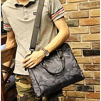 Мужская текстильная сумка. Модель 63253, фото 4