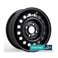 Стальные диски Steel Wheels H030 Black (R14 W5.5 PCD4x100 ET46 DIA54.1)