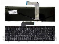 Клавиатура для ноутбука DELL Inspiron 15R: N5110, M5110 черный, черный фрейм