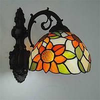 Мини Настенные светильники,Стиль тиффани E26/E27 Металл 04980767