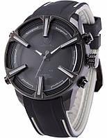 Мужские наручные led часы Shark Dogfish серые