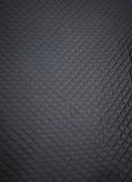 Плащевка стеганая на синтепоне квадраты черная