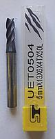 Фреза диаметр 5 мм UET0504 < 60 HRC