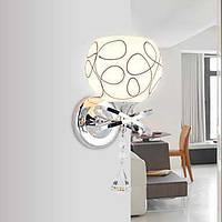 Хрусталь / Светодиодная лампа Настенные светильники,Современный E26/E27 Металл 04746255