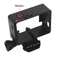 Рамка для экшн камер GoPro Hero 3 / 3+ с переходником на стандартные крепления и кнопкой (код № XTGP71A)