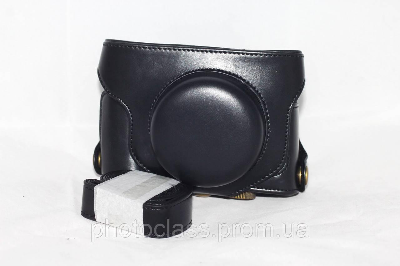 Защитный футляр - чехол для фотоаппаратов Fujifilm X30 - черный