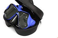 Маска для дайвинга с креплением для экшен камер Xiaomi YI, SJCam, GoPRO - синего цвета (код № XTGP281)