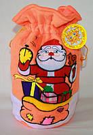 """Мешок для подарка """"Дед мороз"""" 20х30 см"""