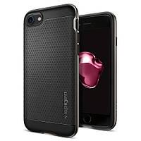 Чехол Spigen для iPhone 7 Neo Hybrid, Gunmetal, фото 1
