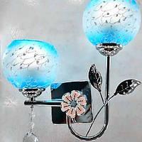 Хрусталь / Светодиодная лампа Настенные светильники,Современный E26/E27 Нержавеющая сталь 04814371