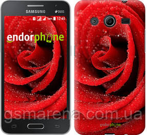 "Чехол на Samsung Galaxy Core 2 G355 Красная роза ""529c-75-7794"""