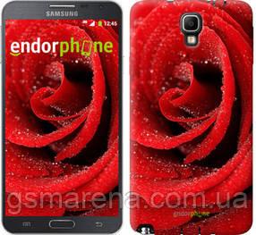 "Чехол на Samsung Galaxy Note 3 Neo N7505 Красная роза ""529u-136-7794"""