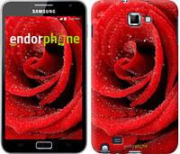 """Чехол на Samsung Galaxy Note i9220 Красная роза """"529u-316-7794"""""""
