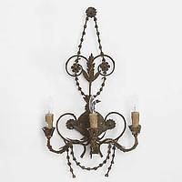 Три головы творческой личности промышленного ретро стены металла лампа для дома / гостиничный номер украшают стены света 05100017