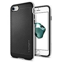 Чехол Spigen для iPhone 7 Neo Hybrid, Satin Silver, фото 1