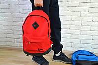 Рюкзак Nike, красный с черными вставками