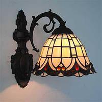 Мини Настенные светильники,Стиль тиффани E26/E27 Металл 04980772