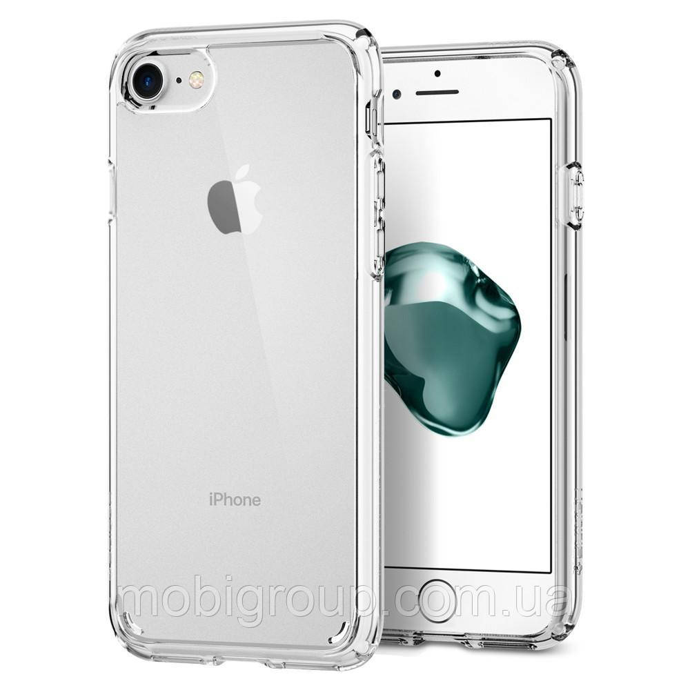 Чехол Spigen для iPhone 7 Ultra Hybrid 2, Crystal Clear