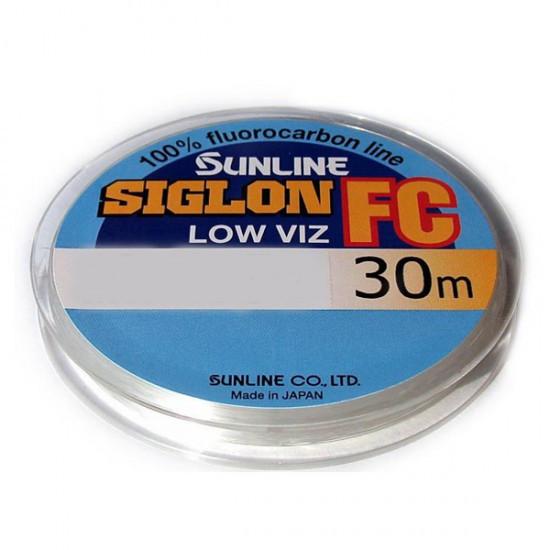 Леска Sunline SIG-FC флюорокарбон 30м 0,14мм 1.4кг поводковый