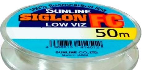 Леска Sunline SIG-FC флюорокарбон 50м 0,38мм 9,1кг поводковый