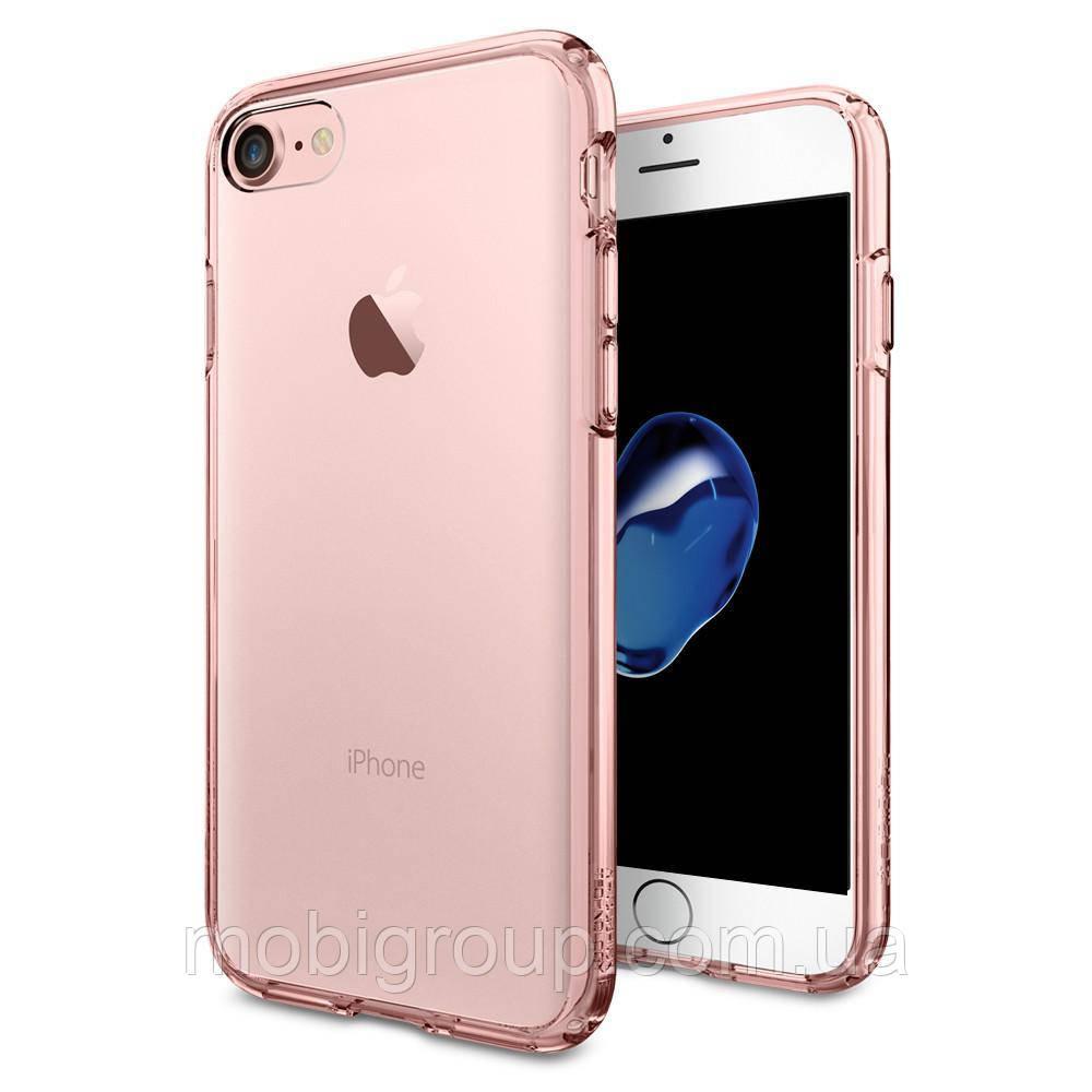 Чехол Spigen для iPhone 7 Ultra Hybrid, Rose Crystal