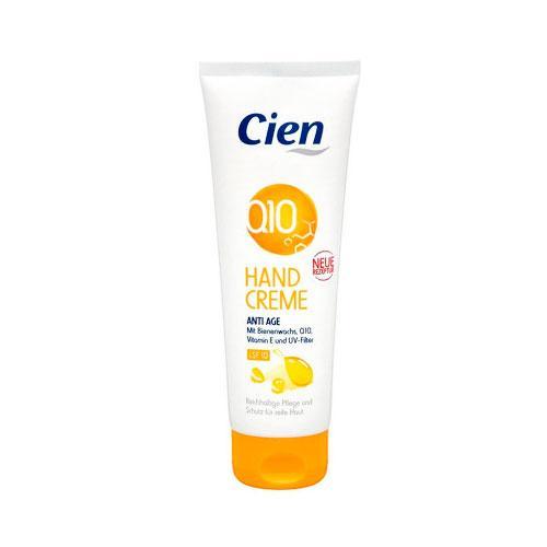Cien Q10 Крем для рук с пчелиным воском и витамином Е 125 мл