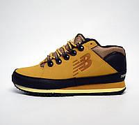 Зимние кроссовки New Balance 754 HL754BB yellow без меха. Живое фото (Реплика ААА+)
