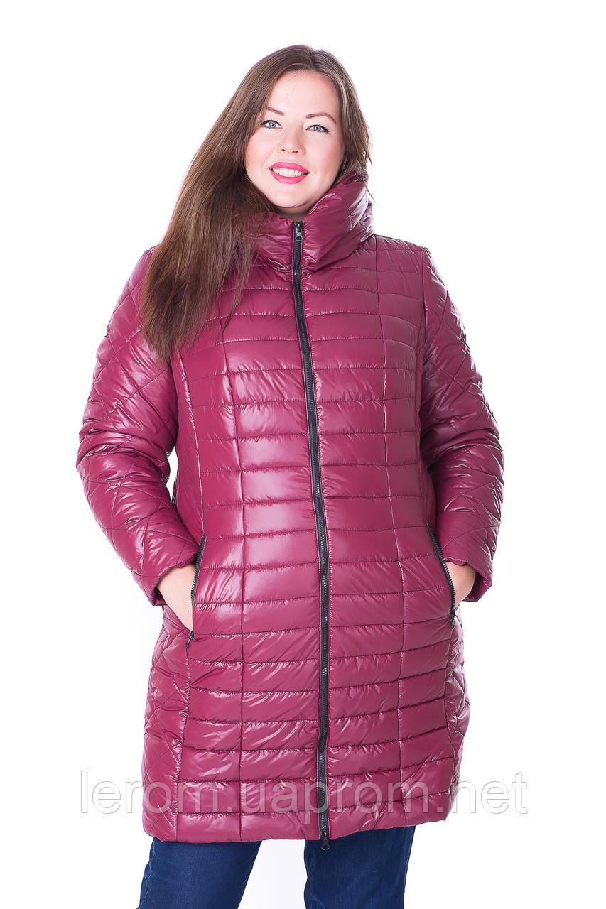 Модная зимняя куртка батал. Супер батал