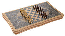 Шахматы и нарды - подарочный набор