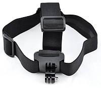 Крепление на голову + чехол (Head Strap mount) для экшн камер Xiaomi YI, SJCam, GoPRO (код № XTGP23)