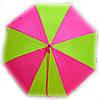 Зонт трость для девочки Радуга