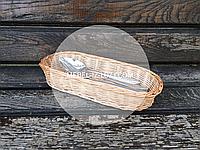 Диспенсер плетеный для столовых приборов, фото 1