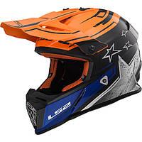 Мотоциклетный шлем LS2  MX437 FAST r.XXL
