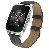 Смарт-годинник Asus ZenWatch 2 WI501Q (Dark Blue Gun/Leather) *