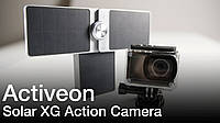 Экшн камера Activeon - Solar XG в комплекте с солнечной батареей