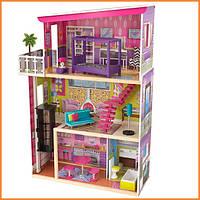 Дом для кукол KidKraft Supermodel Супермодель кукольный домик с мебелью 65849