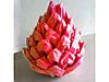 """Серветка 33х33 см, 3 шари, 20 шт., Червона ТМ""""LUXY"""""""