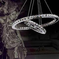 Люстры и лампы Подвесные лампы ,  Современный Электропокрытие Особенность for Хрусталь Светодиодная лампа Лампочки включены Металл 00672658